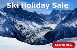 ski holiday sale